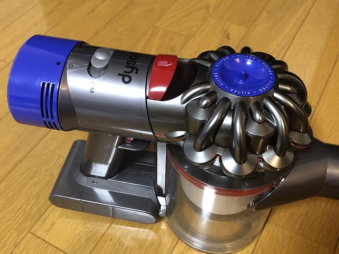 ダイソンコードレス掃除機が動かない|電源がついたり消えたりする時の2つの対処法