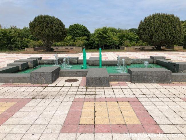明治公園 噴水