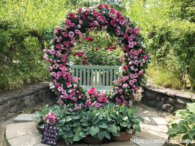 銀河庭園 花のリース