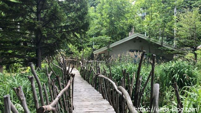 葦笛洞(いてきどう) 橋道