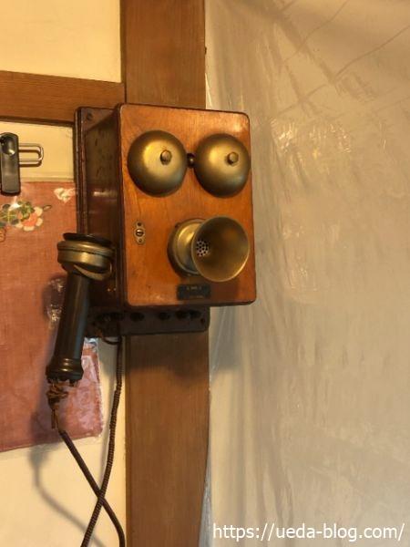 葦笛洞(いてきどう) アンティークの電話