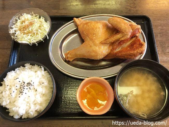 小樽なると屋 朝里本店 若鶏半身揚げ定食