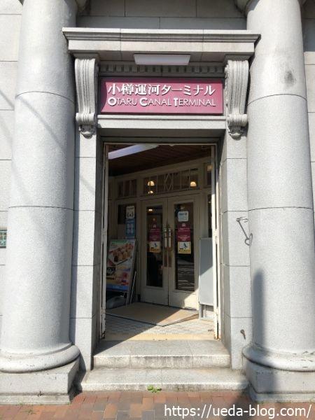 小樽運河ターミナル ぱんじゅう 店舗場所・電話番号