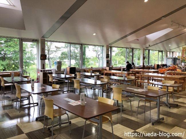苫小牧道の駅 食堂の様子