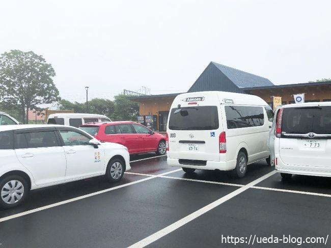 ポロトミンタラ 駐車場