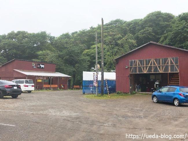 ウエムラ牧場 駐車場