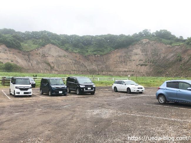 ウエムラ牧場 広めの駐車場