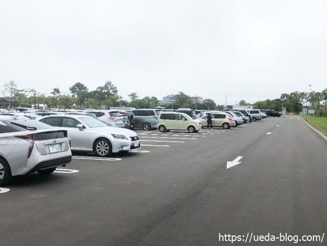 ウポポイ 第一駐車場
