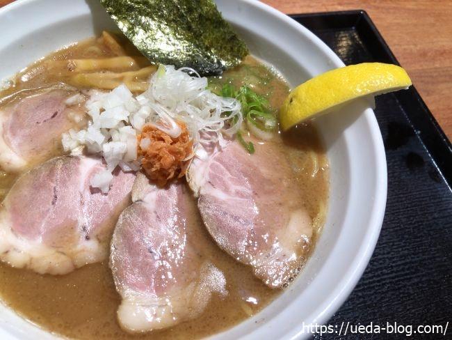 麺匠 赤松 和こく鮭だし醬油 鮭玉