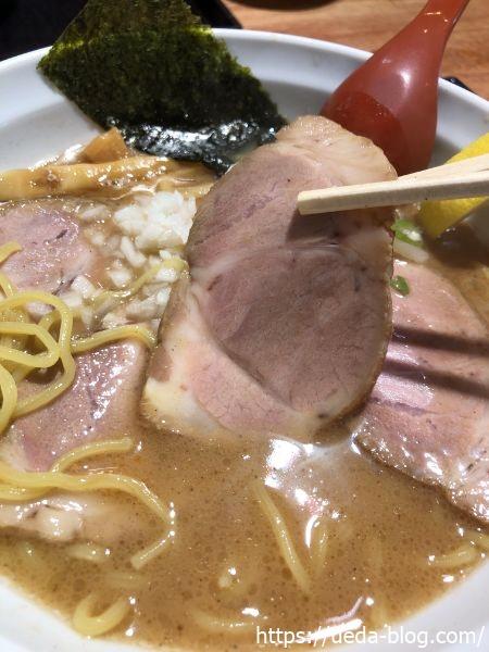 麺匠 赤松 炙りトントロチャーシュー