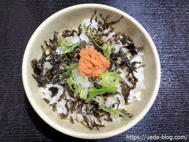 麺匠 赤松 〆の鮭めし
