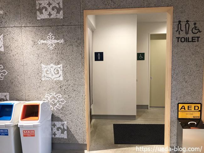 ポロトミンタラ施設内のトイレ
