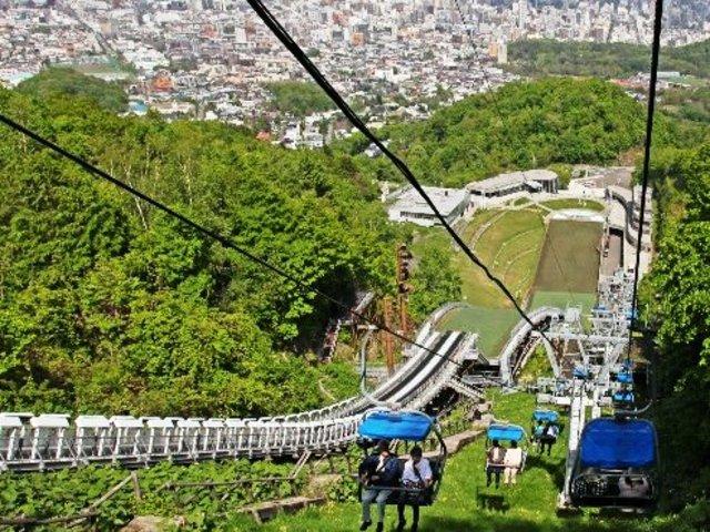 札幌オリンピックミュージアム 大倉山展望台リフト