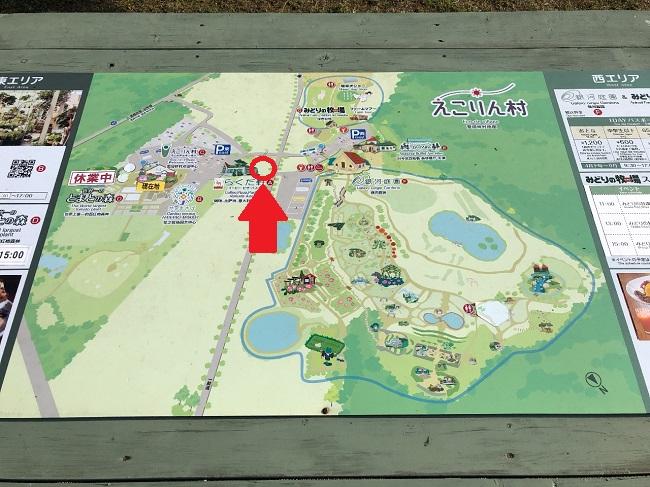 えこりん村 ヒツジの絶景ポイント