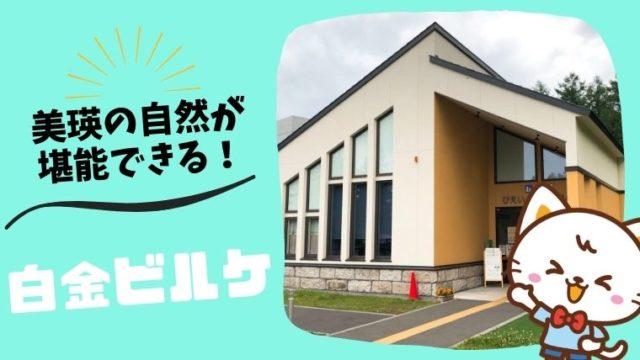 道の駅びえい 白金ビルケ