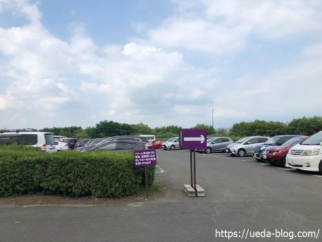 ファーム富田 駐車場