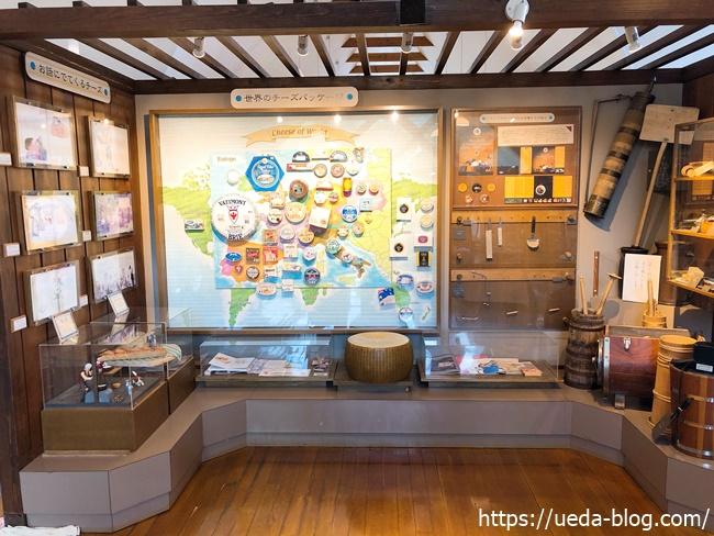 富良野チーズ工房 展示場
