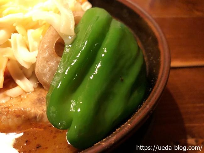 ラマイ千歳店 大きくカットされた野菜