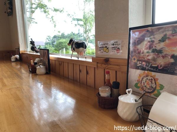 花茶 レストランのカウンター席