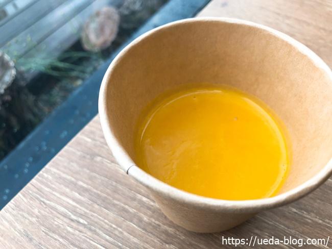 恵庭産かぼちゃのスープ