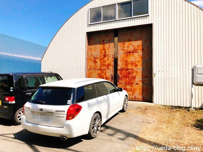 むらかみ牧場の駐車場の写真