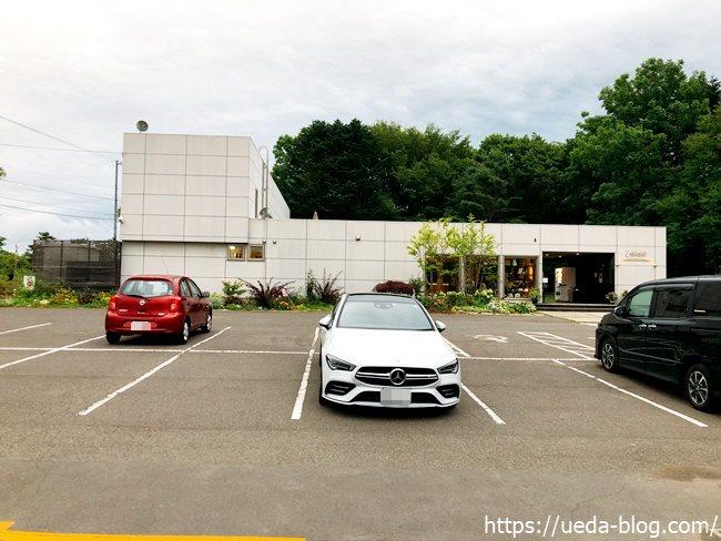 アルトラーチェの駐車場
