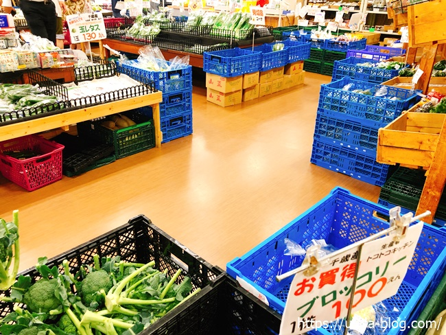 千歳農産物直売所「旬菜の館」