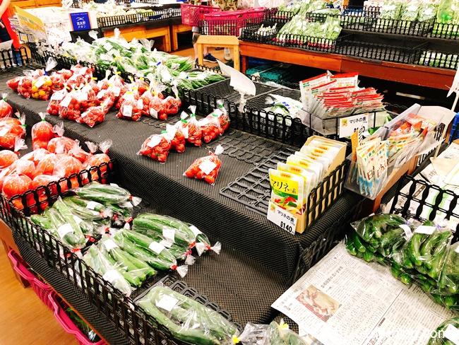 千歳農産物直売所旬菜の館では地元産の新鮮直納野菜が豊富