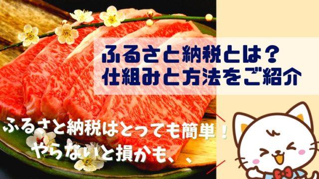 【簡単】ふるさと納税とは?実質2000円の負担で地域の美味しい返礼品をゲットしよう!