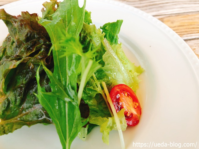 みるくのアトリエ 前菜の野菜