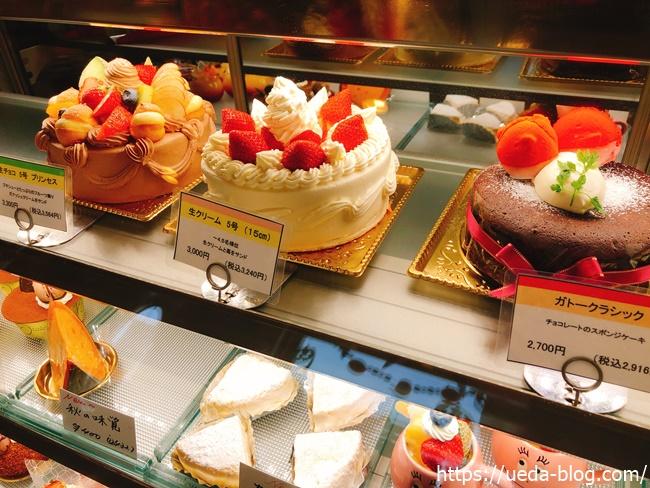 ケーキショップあかねのホールケーキ