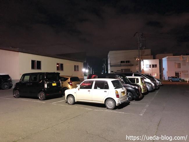 GAJA元町店の駐車場