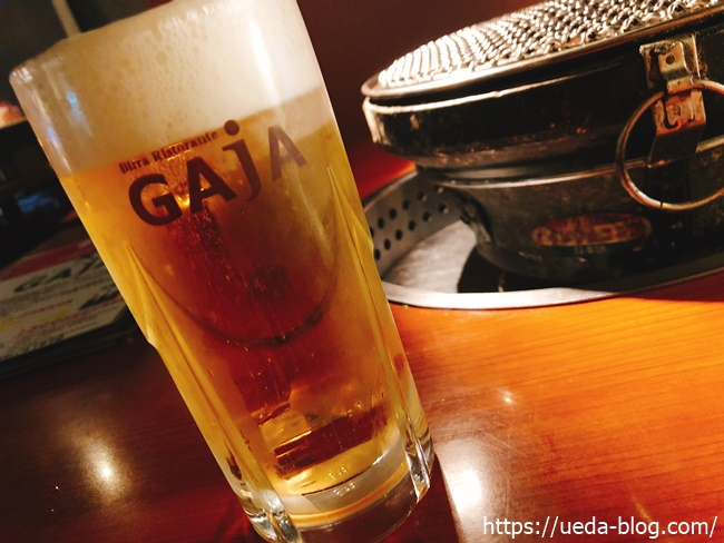 GAJA元町店の生ビール飲み放題