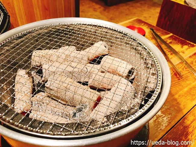 炭火焼肉の七輪