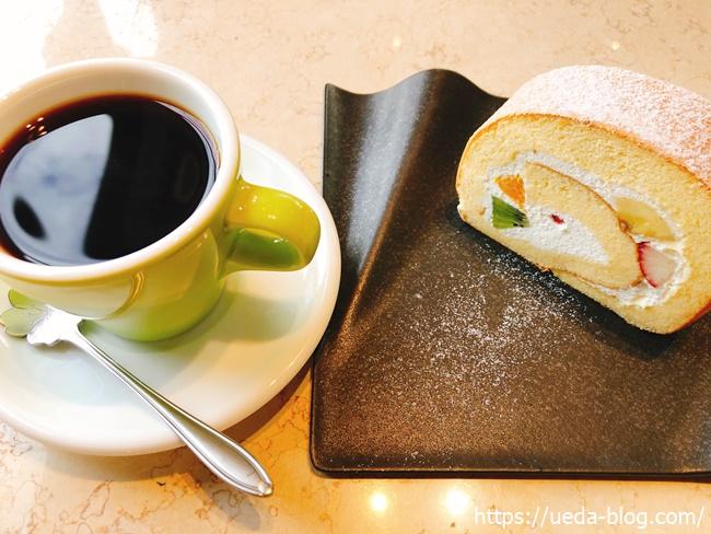 フルーツロール&ブレンドコーヒー
