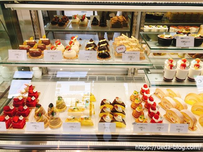 イチエのケーキ売り場