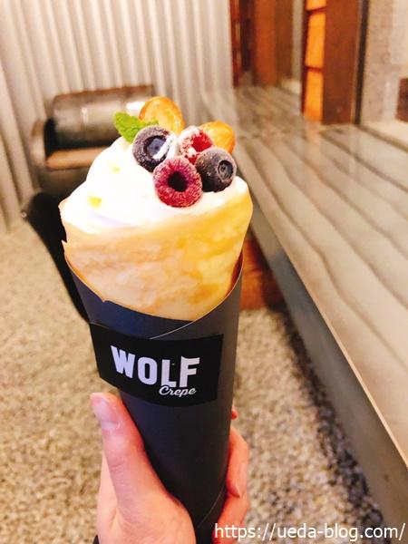 ウルフストア WOLF STORE ミックスベリークリームチーズクレープ