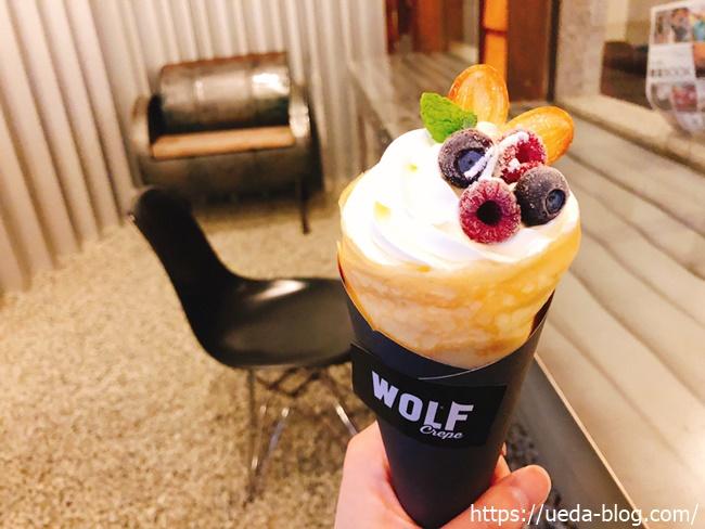WOLF STORE ウルフストア ミックスベリークリームチーズクレープ