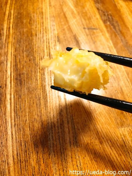 チーズ天ぷらが旨い