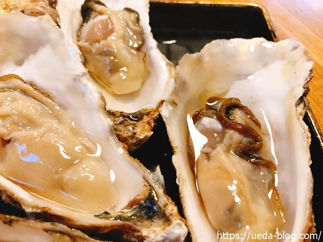 道東昆布森産の生牡蠣