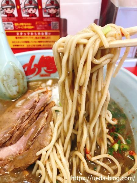 山岡家の麺
