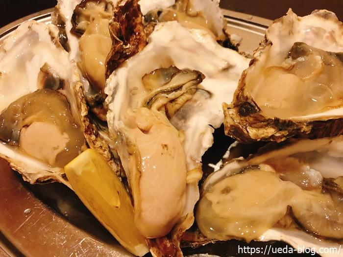 食感がすごくプリプリの生牡蠣