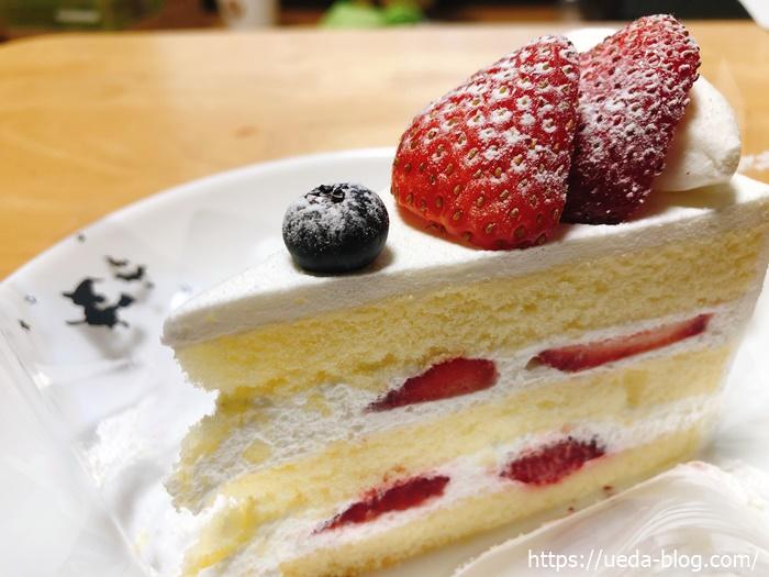 フルーツケーキファクトリーの苺のショートケーキ
